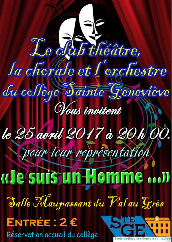 Représentation du club théâtre