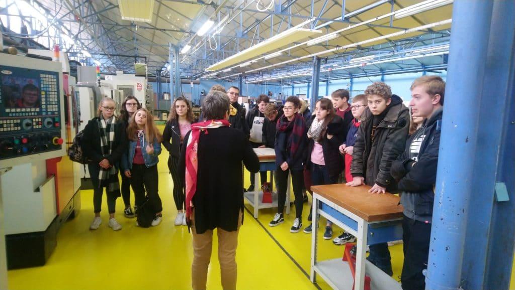 Visite du Lycée Pierre de Coubertin avec les 3C