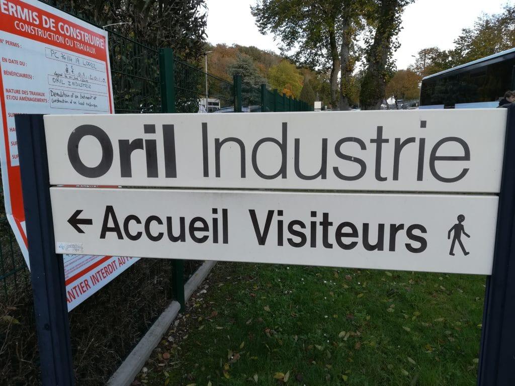 Visite de la société ORIL avec les 3C