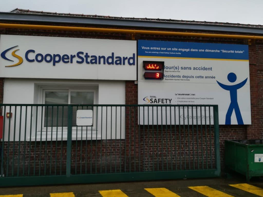 Visite de la société COOPER STANDARD avec les 3B