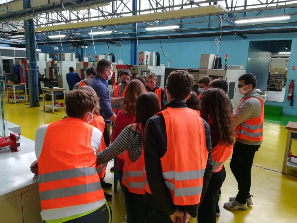 Visite des 3B au lycée Pierre de Coubertin