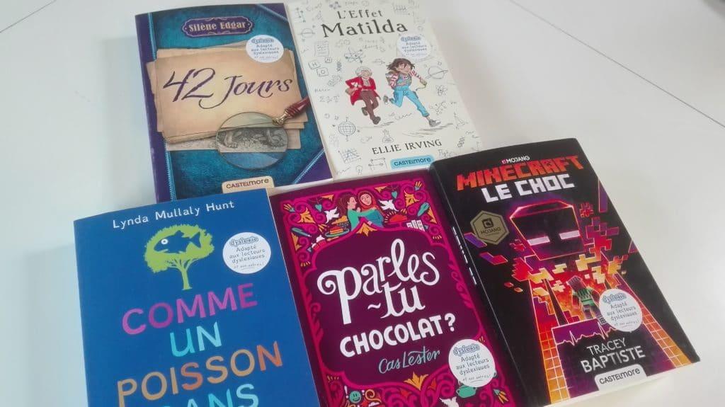 CDI : de nouveaux livres adaptés aux lecteurs dys