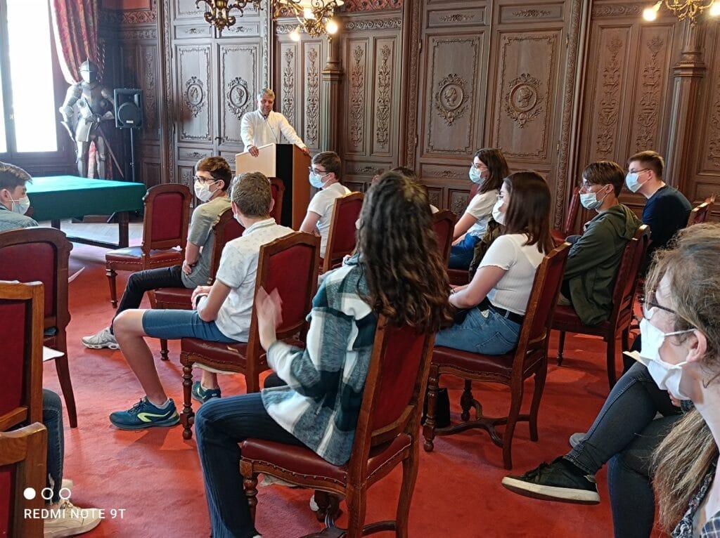 Rencontre des 3B avec le maire de Bolbec